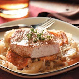 Slow Cooker Pork Chop Supper Recipe