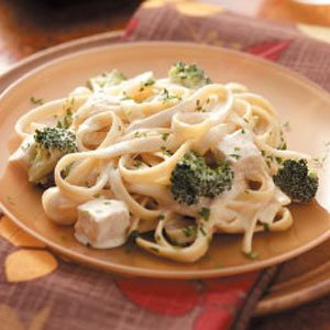 Quick Chicken Fettuccine Recipe