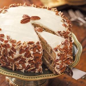 Favorite Italian Cream Cake Recipe