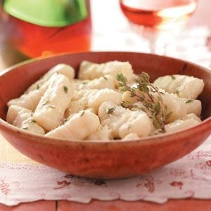 Gnocchi with Thyme Butter Recipe