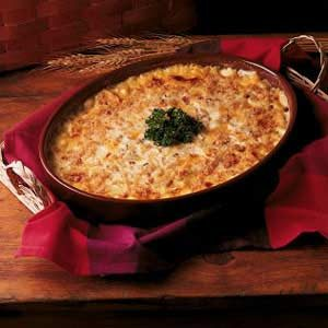 Overnight Scalloped Chicken Casserole Recipe