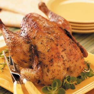 Oregano Roasting Chicken Recipe