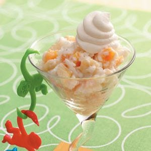 Apricot Banana Rice Pudding Recipe