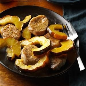 Pork Chops & Acorn Squash Recipe