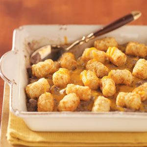 Tater-Topped Beef Casserole Recipe