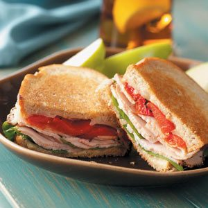 Provolone 'n' Turkey Sandwiches Recipe