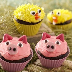 Farm Friend Cupcakes Recipe
