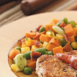 Bacon Vegetable Medley Recipe