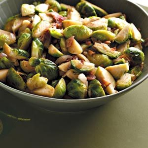 Brussels Sprouts with Bacon Recipe