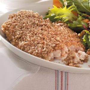 Pecan-Crusted Catfish Recipe photo by Taste of Home