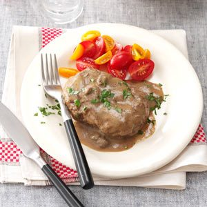 Salisbury Steak Deluxe Recipe