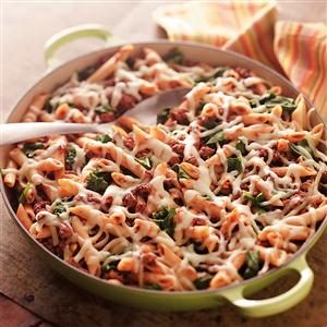 Hearty Penne Beef Recipe