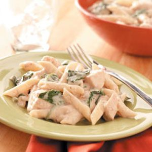 Creamy Spinach Chicken Dinner