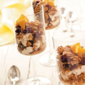 Granola Yogurt Parfaits Recipe