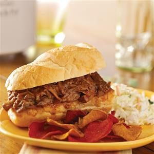 Pulled Pork Subs Recipe