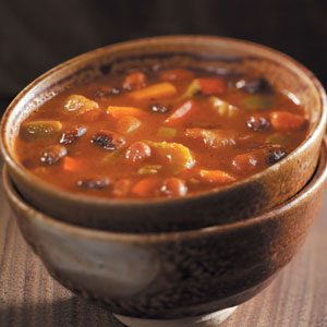 Slow-Cooked Two-Bean Chili Recipe