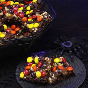 Spooktacular Brownies