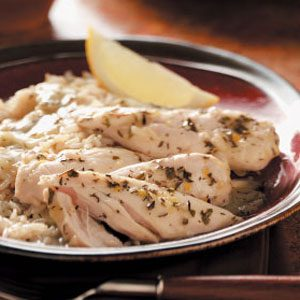 Lemon Chicken with Gravy Recipe