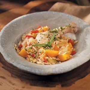 Harvest Chicken with Walnut Gremolata Recipe
