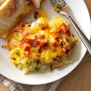 Hash Brown Egg Brunch Recipe