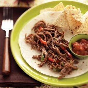 Zippy Beef Fajitas Recipe