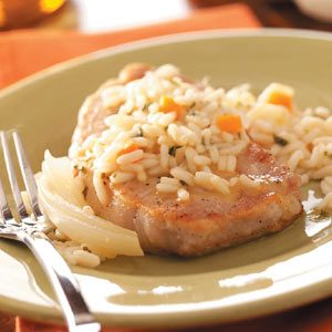 Old-Fashioned Pork Chops Recipe