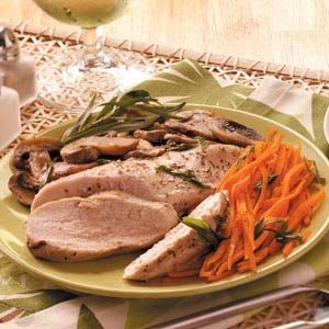 Tarragon Chicken & Veggie Packet Recipe