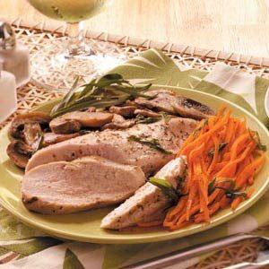 Tarragon Chicken & Veggie Packet Recipe