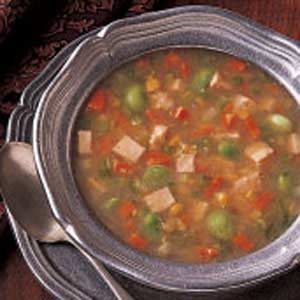 Turkey Vegetable Soup Recipe