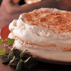 Candy Bar Meringue Torte Recipe