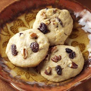Raisin Sweet Potato Cookies