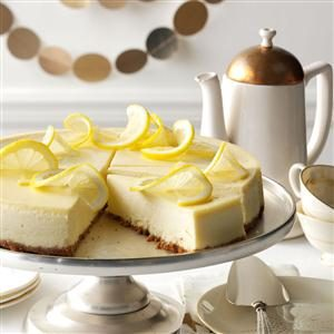 Lovely Lemon Cheesecake Recipe