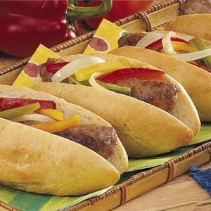 Easy Italian Sausage Sandwiches Recipe