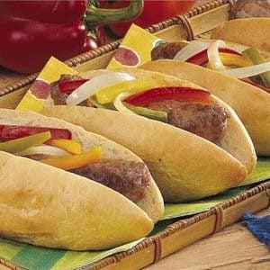 Easy Italian Sausage Sandwiches Recipe