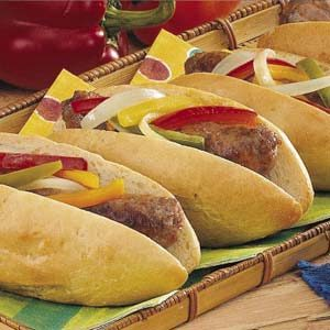 Easy Italian Sausage Sandwiches