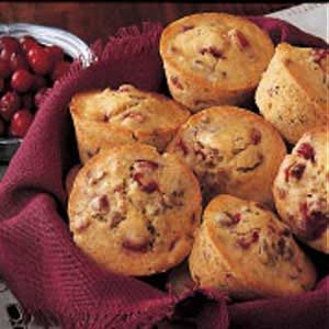 Cranberry Nut Muffins Recipe