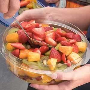 Layered Fruit Salad