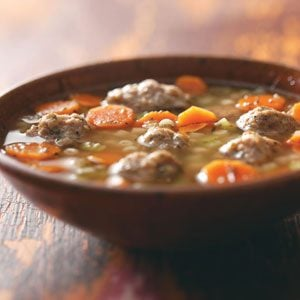 Hearty Turkey Meatball Soup Recipe