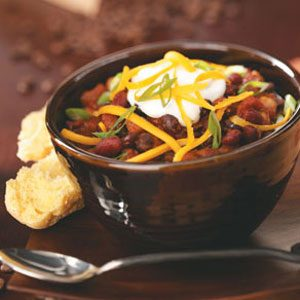 Jumpin' Espresso Bean Chili Recipe