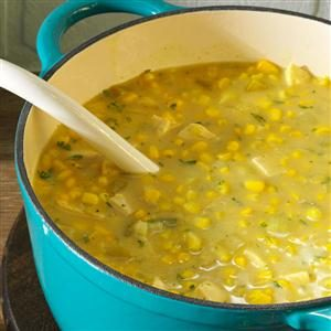Curried Chicken Corn Chowder Recipe