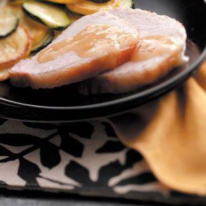Canadian Pork Roast with Gravy Recipe