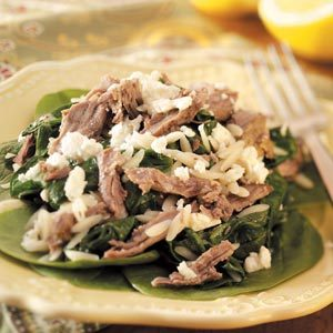 Lamb with Orzo Recipe