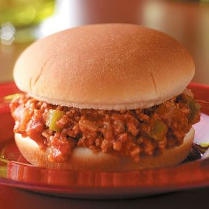 Easy Turkey Sloppy Joes Recipe