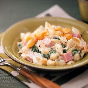 Ham & Shells Casserole Recipe