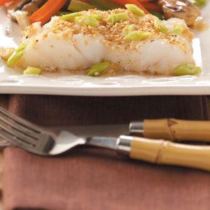 Asian Sesame Cod Recipe