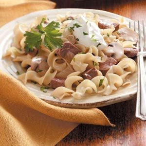 Quick Beef and Noodles Recipe