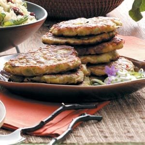 Leek Potato Pancakes Recipe