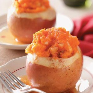 Squash-Stuffed Baked Apples