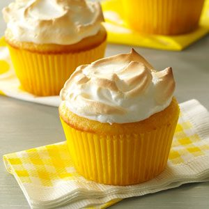 Lemon Meringue Muffins Recipe