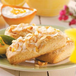 Mango Colada Scones Recipe